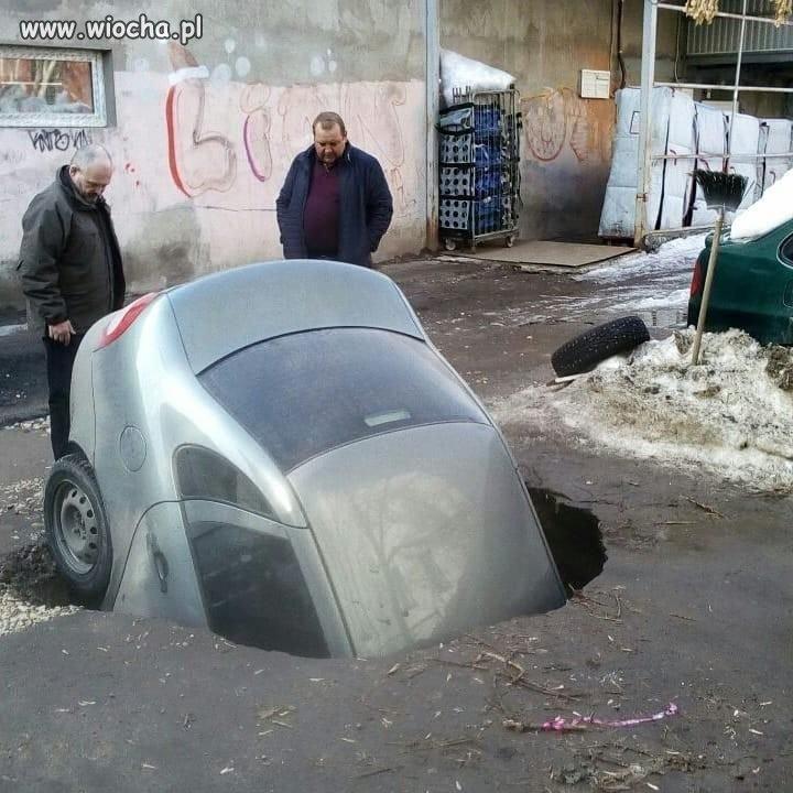Pierwszy podziemny parking na Podlasiu.