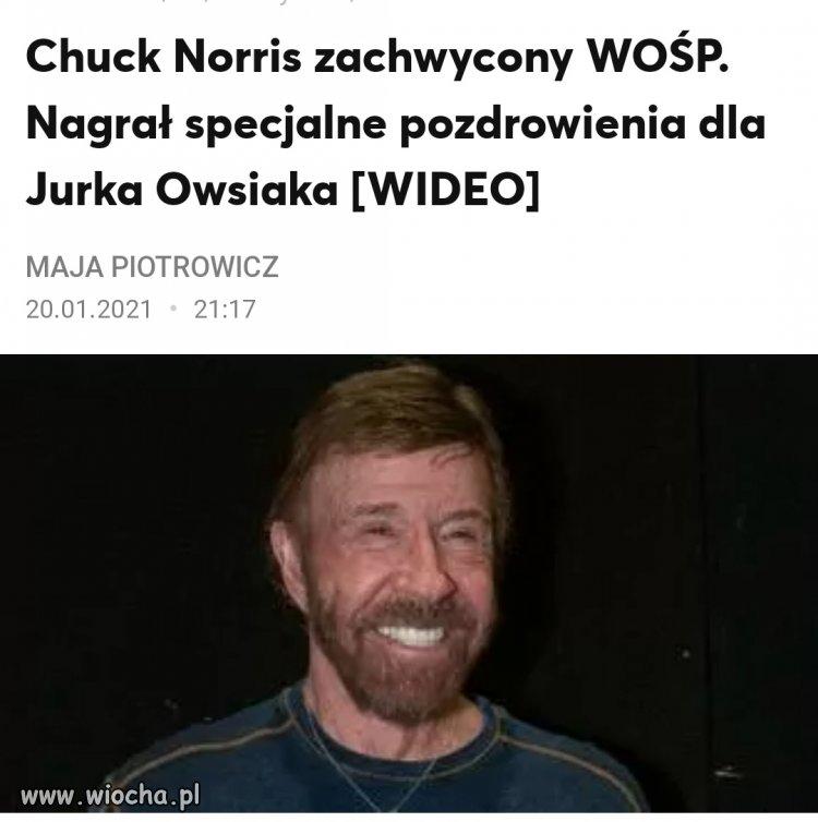 Jest wsparcie od Chucka