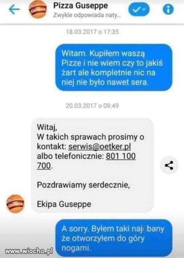 Pizza Guseppe.