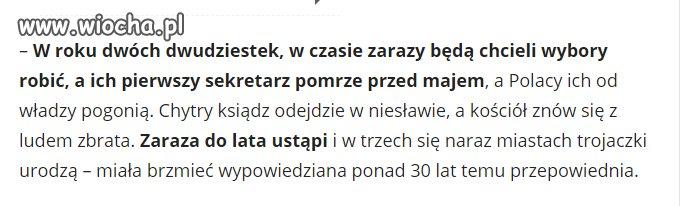 Filip Fediuk: przepowiednie dla Polski