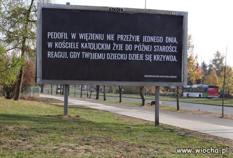 """Kto jest """"ZA"""" niech postawi taki billboard."""
