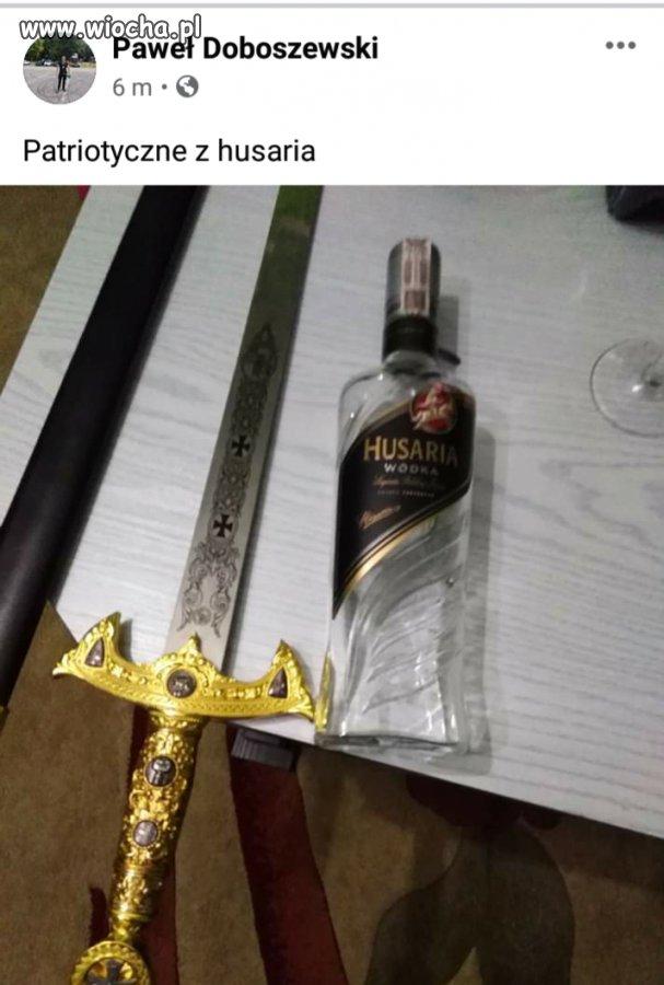 Wodka-Husaria-tylko-dla-prawdziwych-patriotow