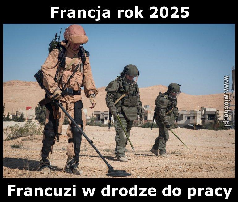 Francja rok 2025