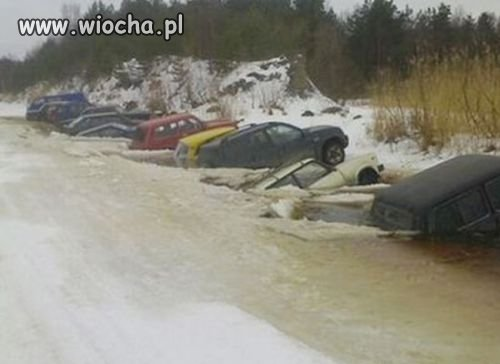 Parkowanie w zimie
