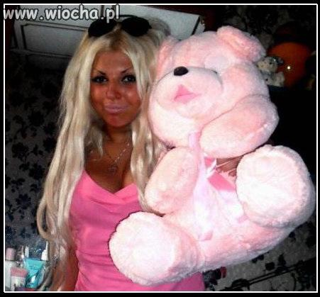 Plastikowa jak prawdziwa Barbie