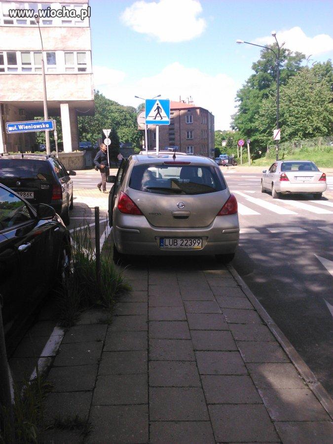 Wiocha parkingowa