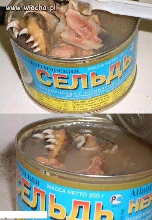 Ruska konserwa rybna