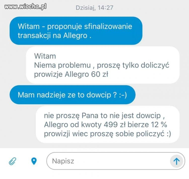 Dialog na olx.